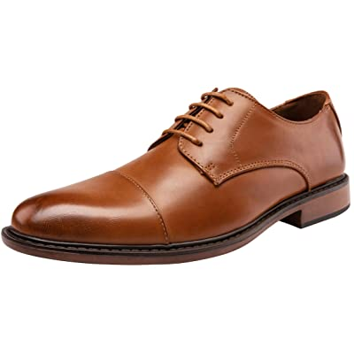 JOUSEN Men's Dress Shoes Modern Brogue Oxford Business Wingtip Shoes | Oxfords
