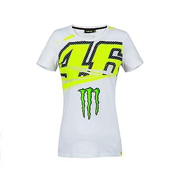 VR46 VR|46 Mujer de Valentino Rossi Monster Energy Camiseta de MotoGP: Amazon.es: Deportes y aire libre