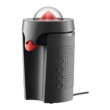 Bodum Bistro Exprimidor eléctrico 90 W, plástico, Acero, Negro
