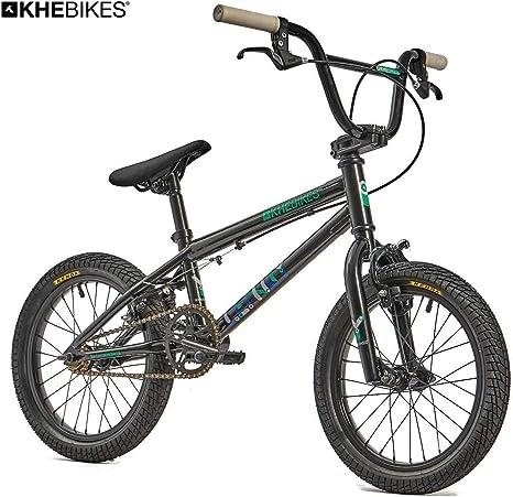 KHE Lenny SE - Bicicleta BMX de 16 pulgadas, color negro, solo 9,8 ...