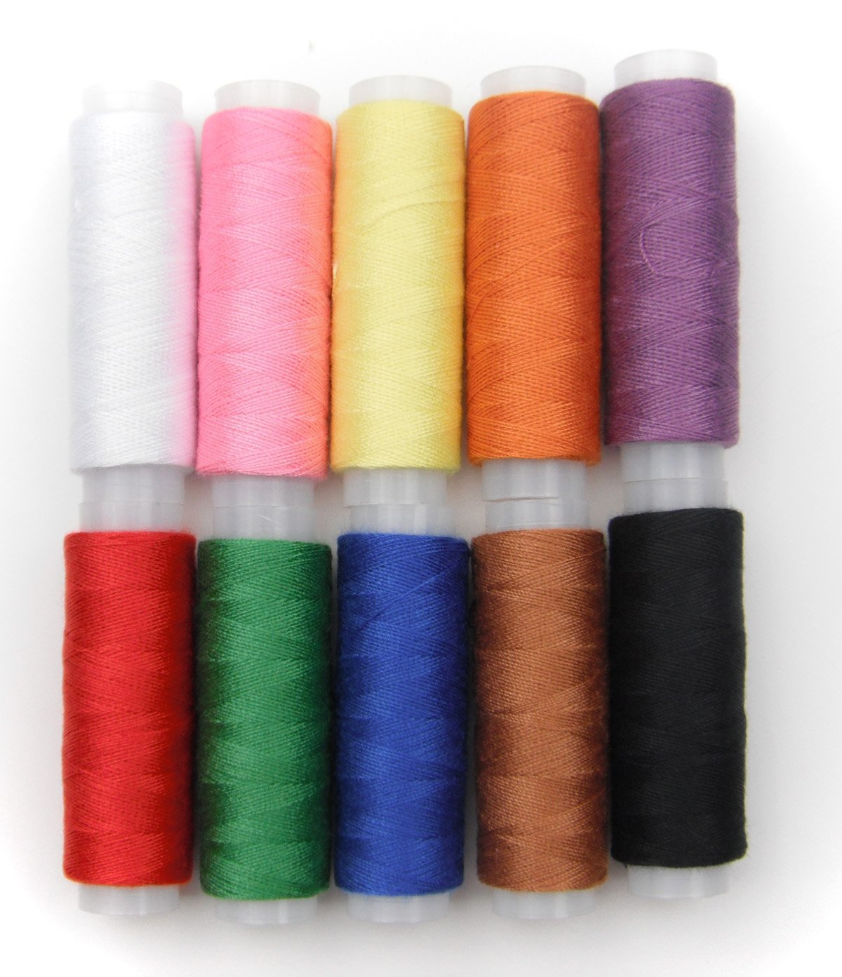 ALL in ONE Polyester Yarn Coils Strings Sewing Thread (10 Color) BCACS9299