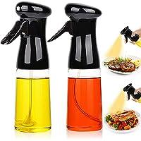ExhilaraZ 2Pcs Olive Oil Sauce Oil Outlet Nozzle Vinegar Bottle Cap Stopper Dispenser Pourer Kitchen Tool Food-Grade Glass Bottle for Cooking BBQ Salad Baking Roasting Grilling Frying Plating Golden