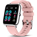 Canmixs Smart Watch for Android Phones iOS Compatible with iPhone Samsung, Fitness Tracker with Heart Rate Blood Oxygen Sleep