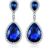 Jewels Galaxy Crystal Elements Sparkling Limited Edition Intriguing Droplets For Earrings For Girls/Women