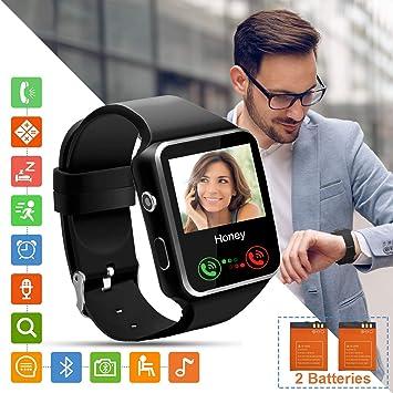 Tipmant SN07 Smartwatch Fitness Armband (Black SN07): Amazon.es ...