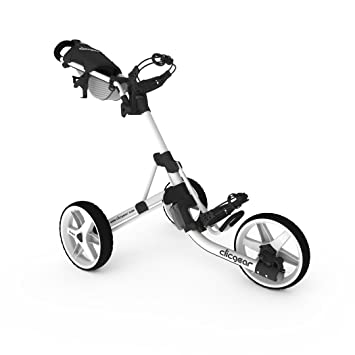 Clicgear 3,5 + carrito de Golf - CGC357-WHT, L, Blanco: Amazon.es: Deportes y aire libre