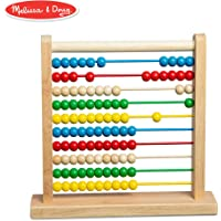Melissa & Doug Abacus Classic Wooden Developmental Toy