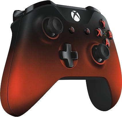 Microsoft Wireless Controller - Shadow Red: Amazon.es: Informática