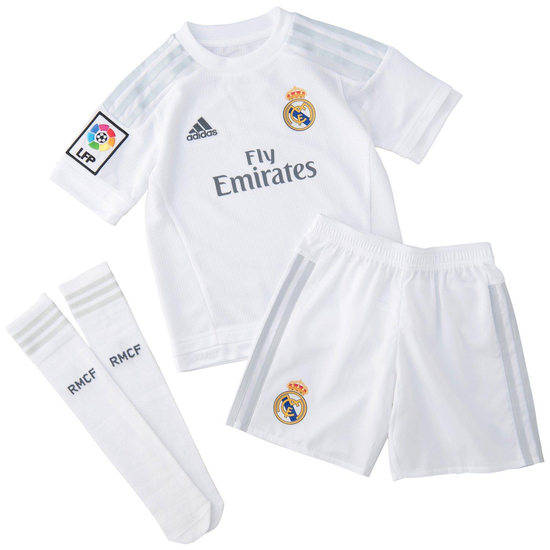 Ausländische Vereine neu Adidas Real Madrid 164 Trikot weiß