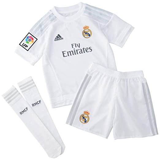 3 opinioni per Adidas-Costume-Mini-Logo Real Madrid-Bianco-18-24 m