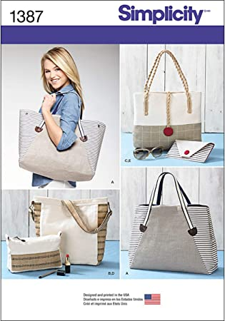 Simplicity 2357 Misses/' Bags    Sewing Pattern