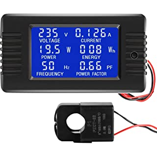 Power Meter with LCD Screen