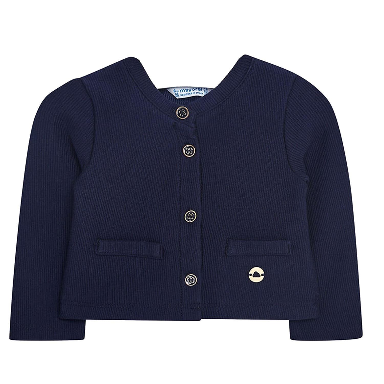 mayoral - Baby girl festive cardigan Sweatjacke, dark blue - 153