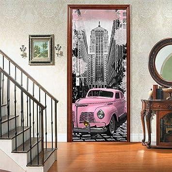 Adhesivos De Papel Tapiz Adhesivo De Pared Dormitorio 3d Lord Rosa