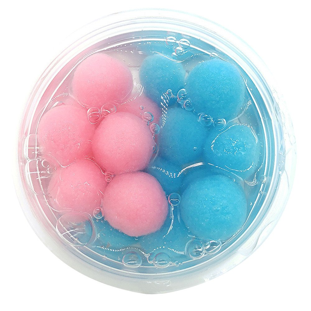 DIGOOD Mixing Coconut Fruit Cloud Slime Scented Stress Relief Kids Crystal Fluffy Slime Clay Toy