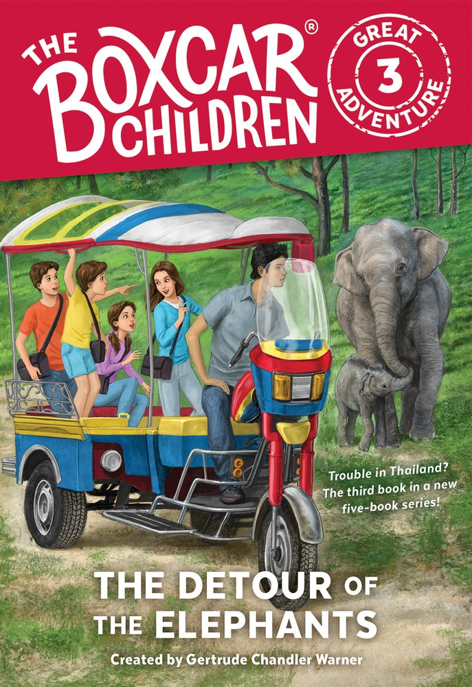 The Detour of the Elephants (The Boxcar Children Great Adventure) ebook