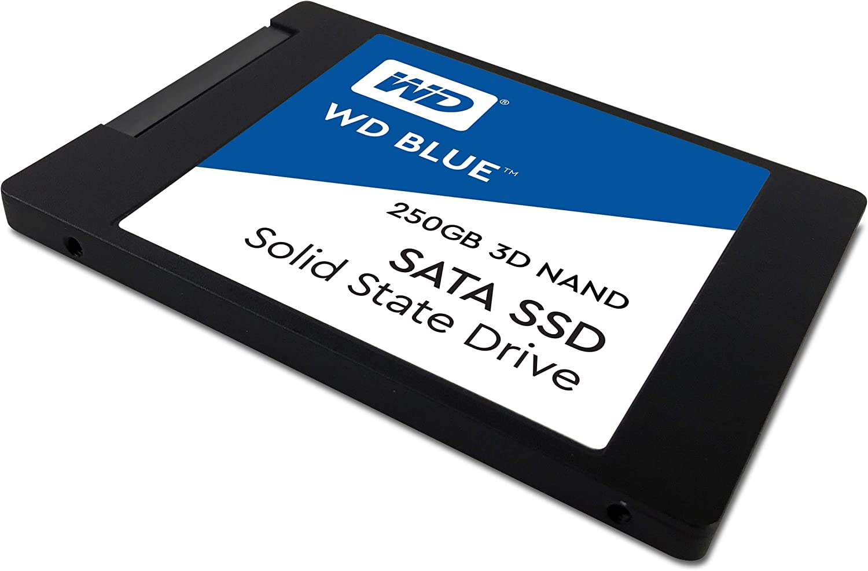Western Digital WDS250G2B0A WD Blue 250GB 3D NAND Internal SSD 2.5 ...