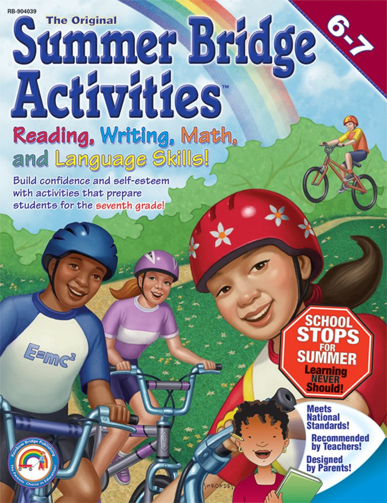 Summer Bridge Activities: 6th to 7th Grade by Summer Bridge Activities