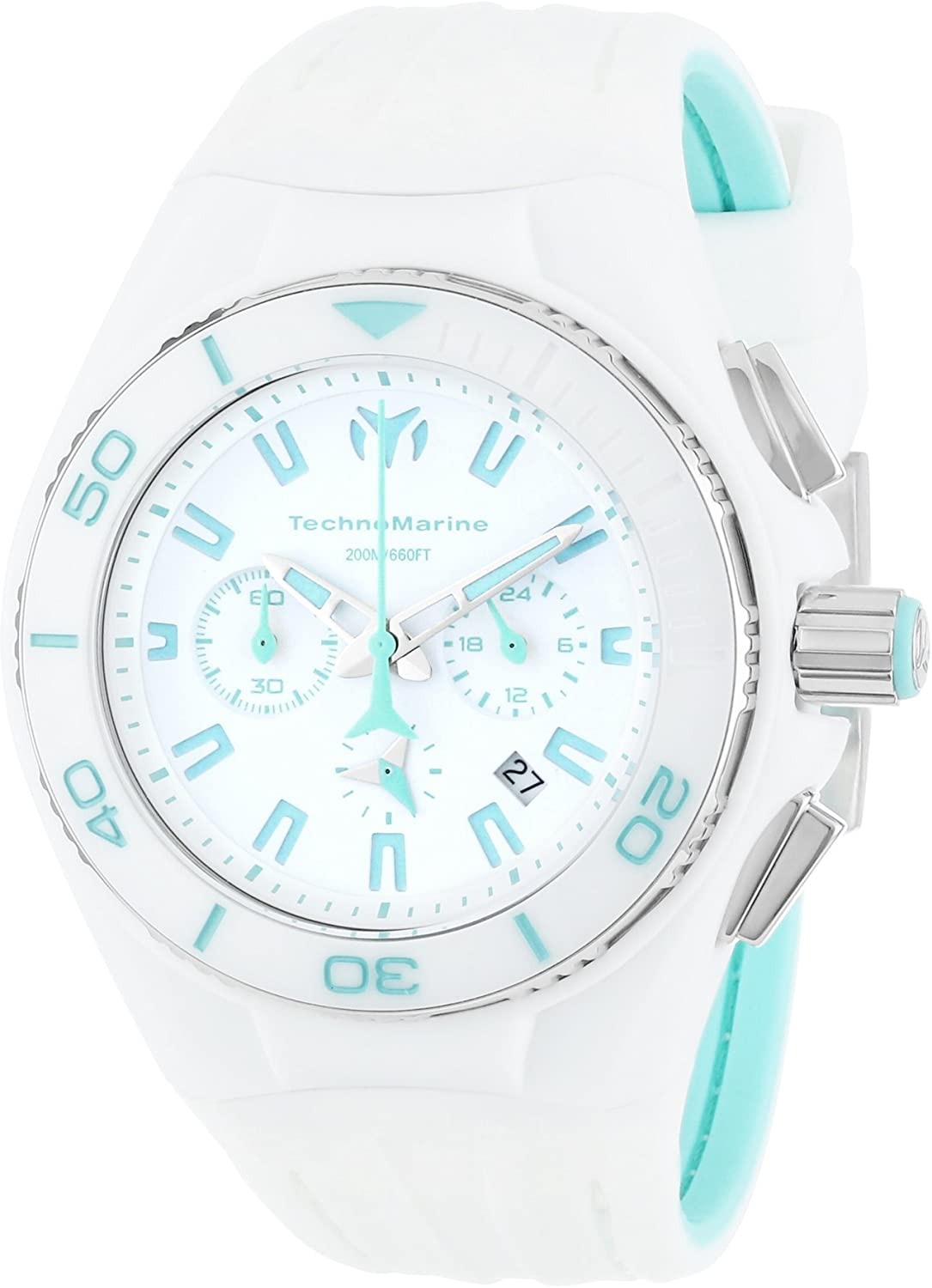 "TechnoMarine Unisex 113011 ""Cruise"" Stainless Steel Watch with Interchangeable Case and Strap"