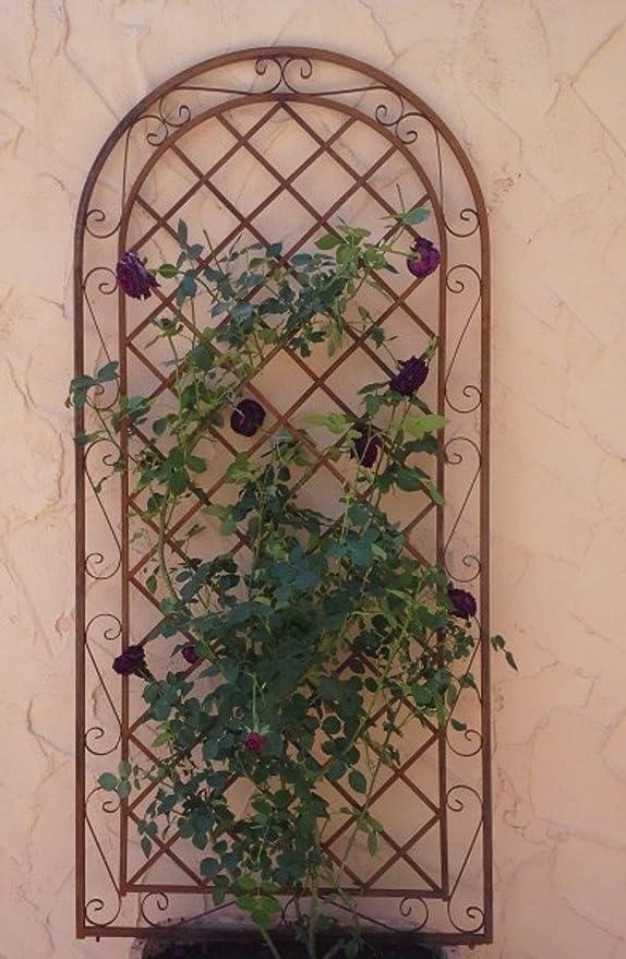 enrejado enrejado pared Rank ayuda para ventana Provence metal ...