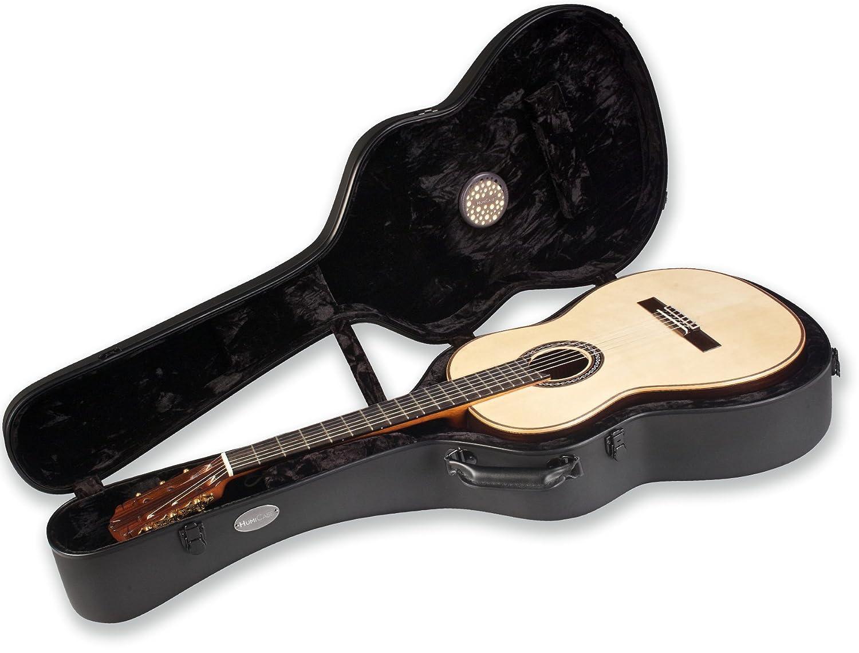 d0ba634574 Amazon.com: HumiCase Metro II (Black) Classical Guitar Case: Musical  Instruments