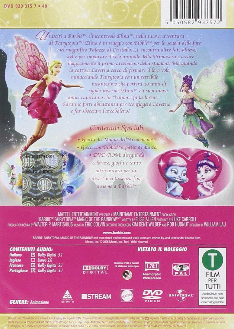 Barbie Fairytopia La Magia Dellarcobaleno Ciondolo Amazonit