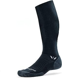 product image for Swiftwick- PURSUIT TWELVE Hiking & Cycling Socks, Winter Sports, Merino Wool Knee High