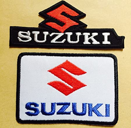 Suzuki  NEW EMBROIDERY SEW//IRON ON Patch