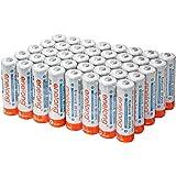 [enelong] エネロング 単3形 充電式電池× 40本セット 容量2100mAh