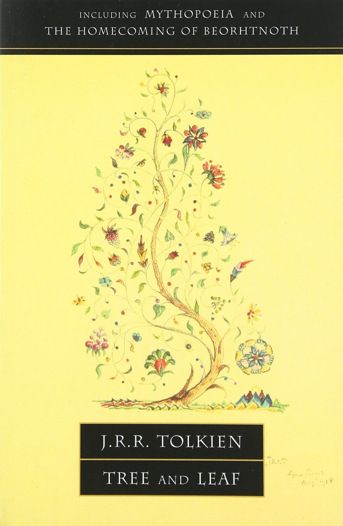 tree and leaf including mythopoeia j r r tolkien tree and leaf including mythopoeia j r r tolkien 9780007105045 com books