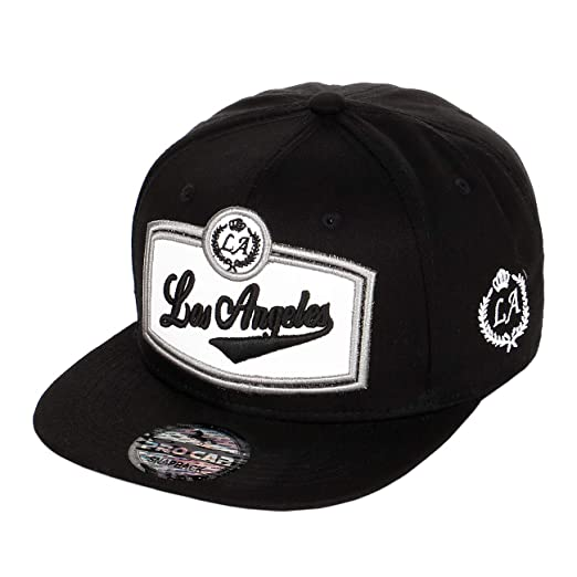 b8435e0b3 Hip-Hop Baseball Cap Los Angeles Collection Variety of Embroidered Designs,  Premium Quality Flat Brim Snapback Adjustable