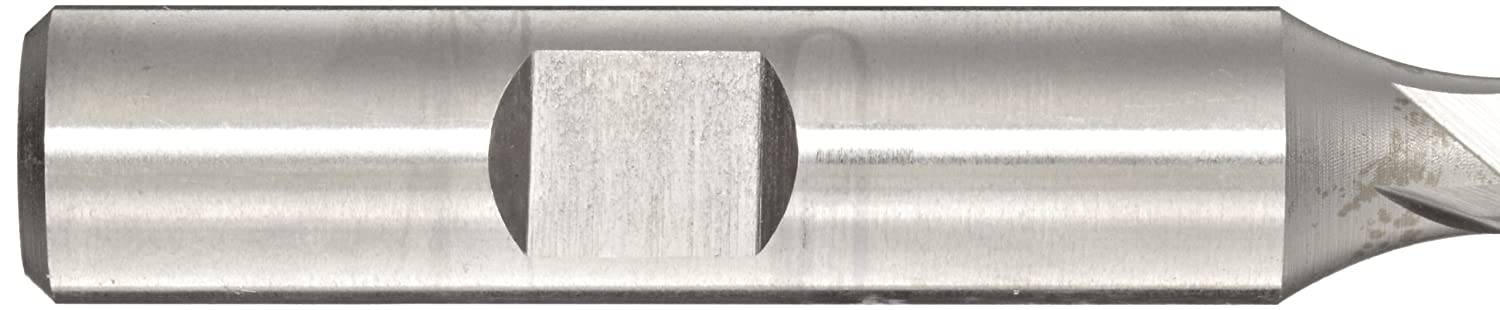 2.4375 Overall Length Bright 2 Flutes 0.375 Shank Diameter 30 Deg Point Angle Melin Tool A-DP Cobalt Steel Drill Mill Uncoated Finish 0.25 Cutting Diameter
