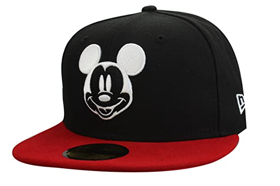 Disney Mickey Mouse Cap from New Era - Collection  Basic in Black Red  fc506873030