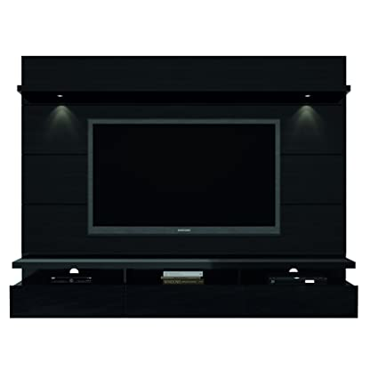 6adda132ffacb6 Manhattan Comfort Cabrini Theater Panel 2.2 Collection TV Stand with  Drawers Floating Wall Theater Entertainment Center