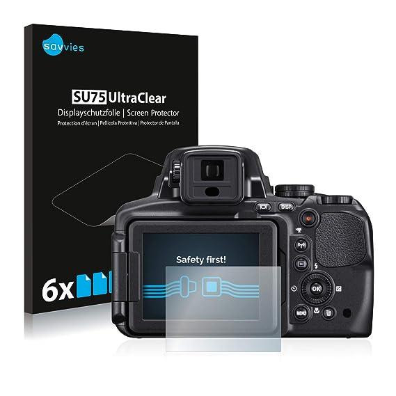 savvies Protector Pantalla Compatible con Nikon Coolpix P900 (6 ...