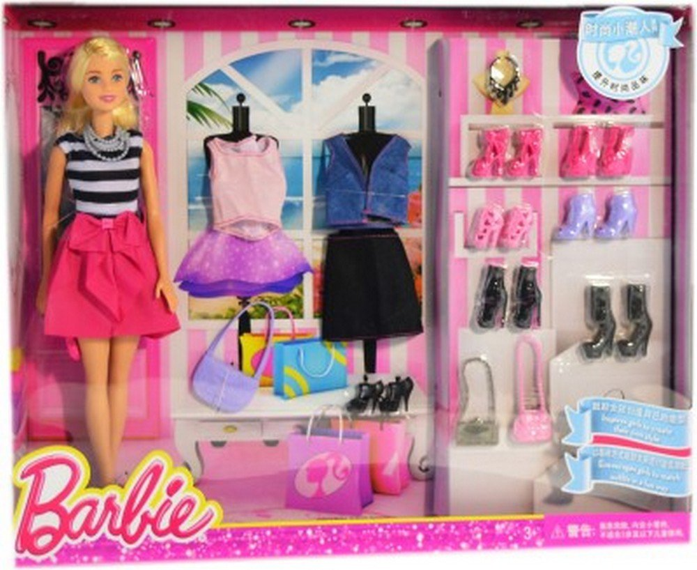 Buy Barbie Fashions and Accessories, Multi Color Online at Low ...