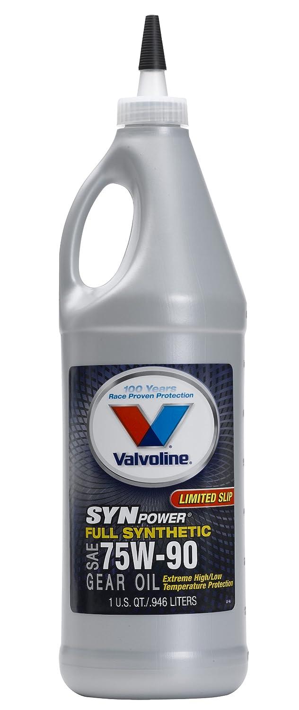SynPower Full Synthetic Gear Oil 75W90, 946ml (case of 12) Valvoline VV975-12PK