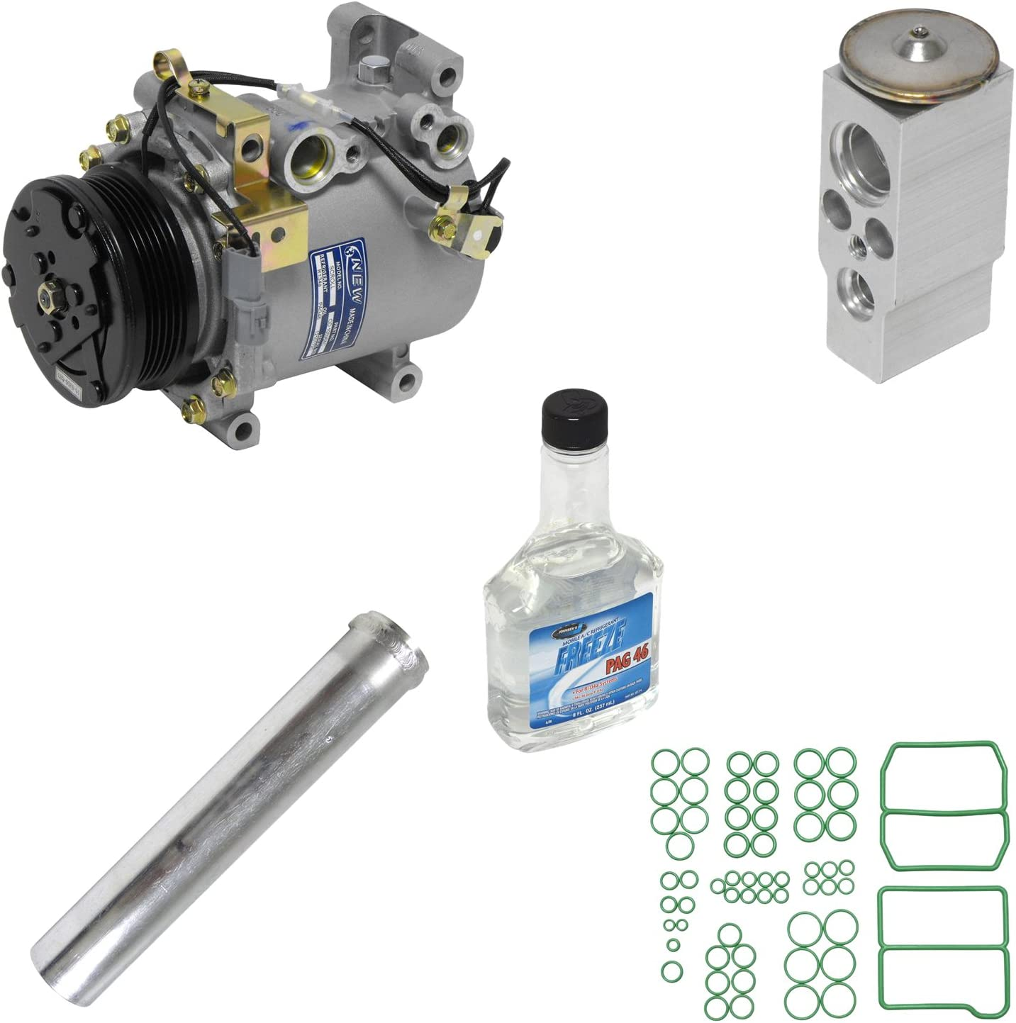 Universal Air Conditioner KT 1023 A//C Compressor and Component Kit