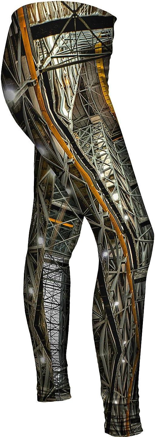 Ladies Womens Leggings Hyperspace Building Yizzam