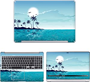 Decalrus - Protective Decal Skin Sticker for Samsung Notebook 7 Spin-NP740U5M (15.6