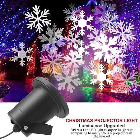 CYCMIA Decoración pared foco lámpara del proyector paisaje LED luz ...