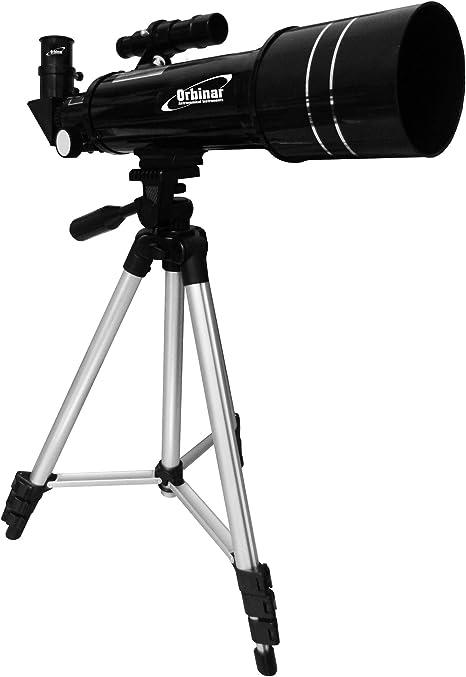 Orbinar 400/70 Telescopio De Viaje + Mochila + Smartphone Adaptador DKA5: Amazon.es: Electrónica