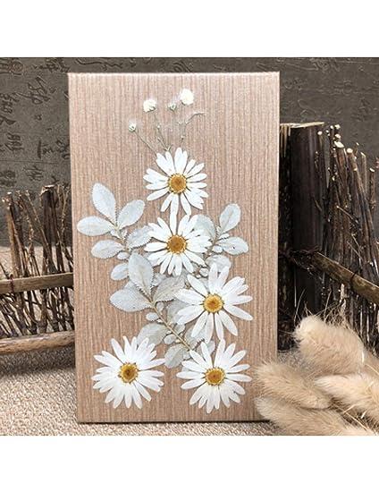 MPLG Puro Trabajo Manual Flores Secas Seriesn Cuaderno ...