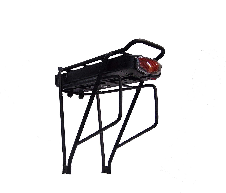 NCB E-Bike Gep/äcktr/äger Akku Li-Ion Umbausatz schwarz 36V 13AH MX18650 mit SHC-8100LC Ladeger/ät