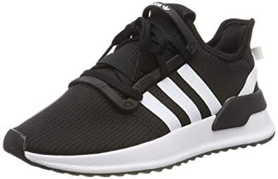 uk availability new styles wholesale online Amazon.com | adidas Originals U_Path Run J Black/Shock Red ...