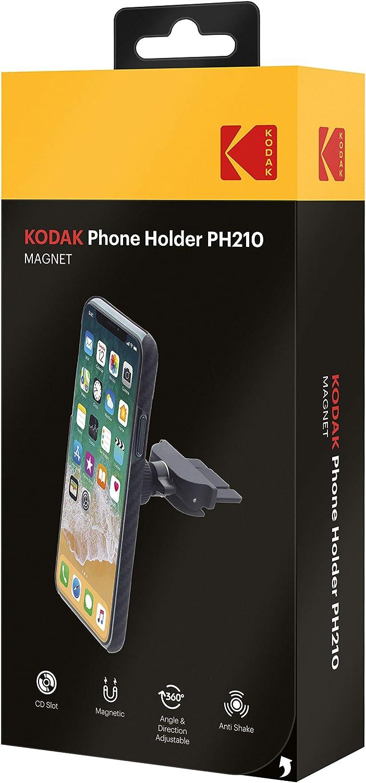 Kodak PH210 Soporte Magnet CD Redondo: Amazon.es: Coche y moto