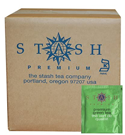 Stash Tea Premium Green Tea, 100 Count Box of Tea Bags in Foil