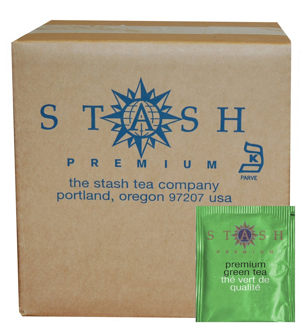 Stash Tea Premium Green Tea, 100 Count Box of Tea Bags in Foil (packaging may vary)