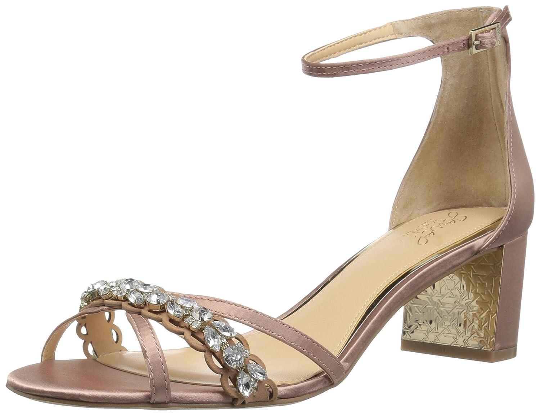 bluesh Badgley Mischka Womens Giona Heeled Sandal
