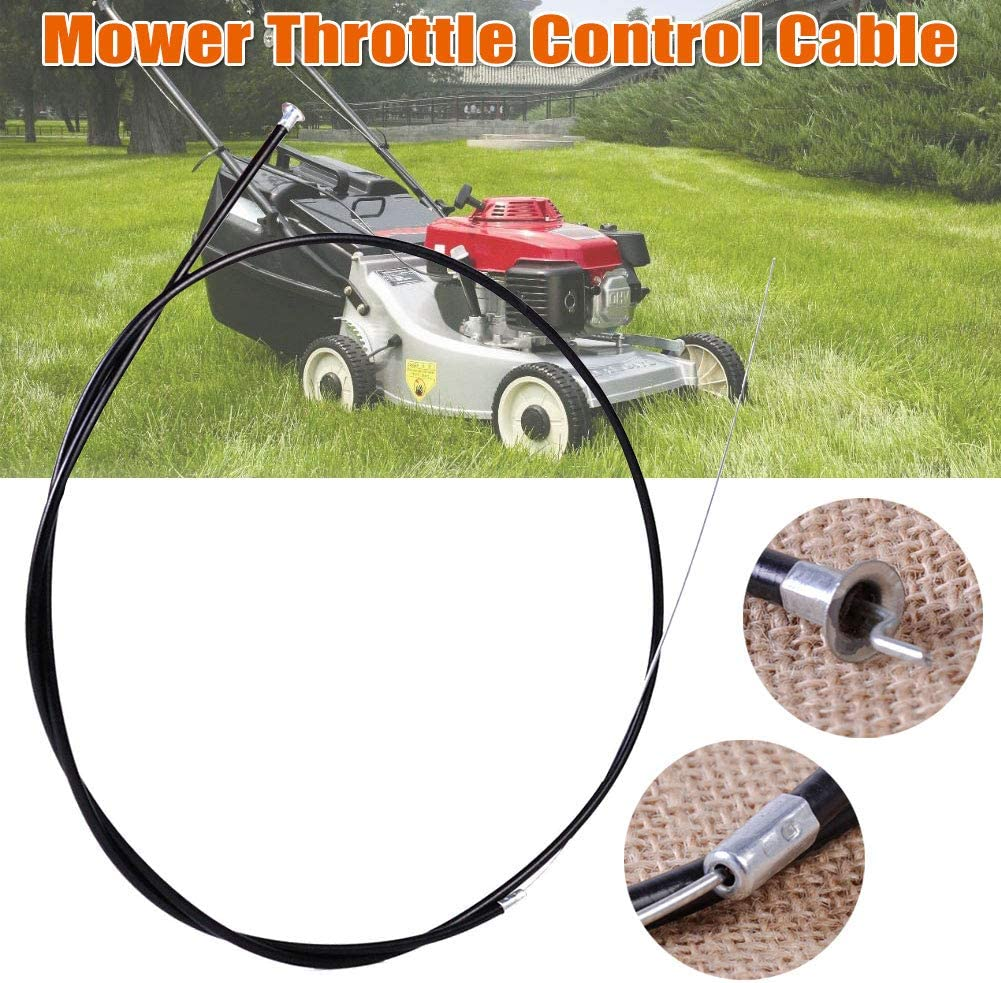 Domeilleur Cable de Control de Acelerador Universal para cortacésped eléctrico de Gasolina